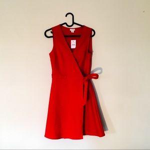 J. Crew Wrap Dress